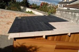 La Couverture maison en bois