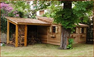 Abris de jardin en bois 1 pente